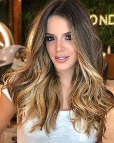 Amazing amp Lovely Blonde Highlights for Long Hair In 2020 Long Hair Highlights, Balayage Ombré, Brown Blonde Hair, Blonde Brunette, Pinterest Hair, How To Make Hair, Ombre Hair, Pretty Hairstyles, New Hair