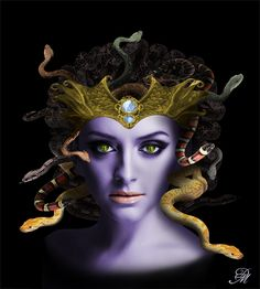Medusa Gargona by Bagira-huntress