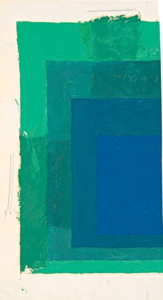 Color Studies for Homage to the Square, Joseph Albers
