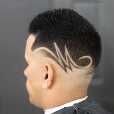 Hair Designs For Boys, Haircut Designs For Men, Beard Styles For Men, Hair And Beard Styles, Short Hair Styles, Hair Tattoo Men, Hair Tattoos, Black Boys Haircuts, Haircuts For Men