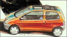 Renault Twingo drawing