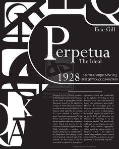 Perpetua Typography Poster by karikun.deviantart.com on @deviantART