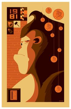 I dig this epic Donkey Kong poster.
