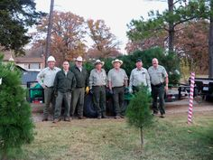Texas Parks and Wildlife shared Texas Parks and Wildlife - Eisenhower State Park's photo.  Our park staff helped supply the Christmas tree that will decorate the Texas House of Representatives. It comes from a tree farm in north Texas and was cut by staff from Eisenhower and Lake Mineral Wells State Parks.
