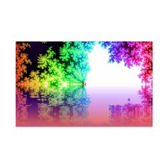 Color + Design Blog / 50 Colorful Wallpapers: Full Spectrum Love by... ❤ liked on Polyvore featuring backgrounds and pictures