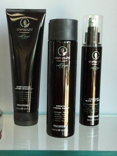 These products are from John Paul Mitchell Systems Awapuhi Farm. The Best thing that will ever happen to your hair!! Oh and it is available at Pro Cut in Slidell!!