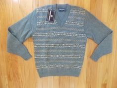 Robert Bruce  Wool V-Neck  Sweater