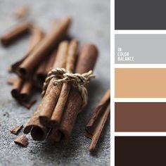 бежевый, коричневый, оттенки коричневого, оттенки серого, подбор цвета, рыже-коричневый, светло серый, светло-коричневый, серебряный, серо-бежевый, серый, серый цвет, темно серый, теплый коричневый, цвет корицы, цвет шоколада.