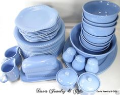 periwinkle dishes