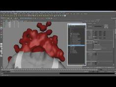 ▶ Maya nParticles Blood spill tutorial. - YouTube - Just for liquid modelling