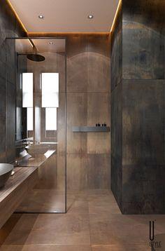 Architecture,Visual Effects,Interior Design Washroom Design, Toilet Design, Bathroom Design Luxury, Modern Bathroom Design, Home Room Design, Home Interior Design, Bathroom Design Inspiration, Apartment Interior, Small Bathroom