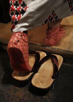 Japanese socks for kimono, Tabi 足袋