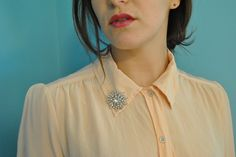 how to wear a brooch - Google Search