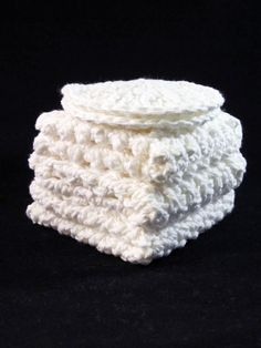 Cotton Wash Cloths and Face Scrubbies by CraftyRidge on Etsy