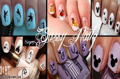 Childrens Nail Art Transfer Kit by SassyNailzIreland on Etsy, $13.00