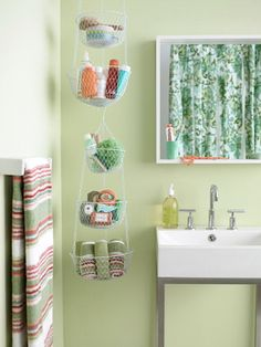Your Tiny Bathroom is Now Huge: 20 Space Savers to Buy or DIY via Brit + Co.