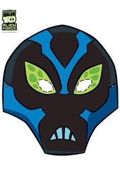Free Ben 10 Swampfire Printable face mask free
