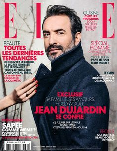 Cette semaine, Jean Dujardin est en couverture de ELLE !