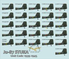 Ju 87 Unit Code