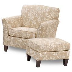 Chair and ottoman Ottomans and Chairs on Pinterest