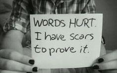 words hurt.