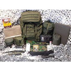Nouveau petit Militaire Olive Serviette camping Bushcraft H