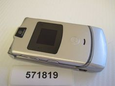 Motorola-RAZR-V3-AT-T-Cingular-GSM-Flip-Cell-Phone-FAIR-condition-571819M