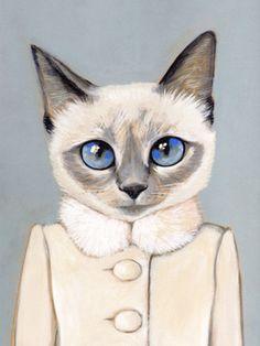#illustration #fashion #cat