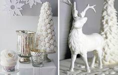Winter wonderland wedding: Dessert! #ido #inspiration