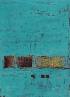 "Saatchi Online Artist: Tim Hallinan; Acrylic, 2012, Painting ""It's Warmer Inside"""