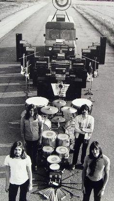 History In Pictures @History In Pics   Pink Floyd, 1969