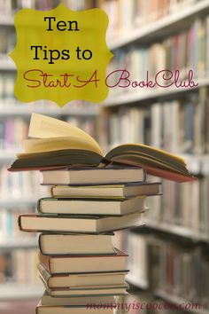 How to Start a Book Club from the blog Mommy is CooCoo