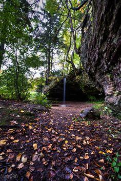 Scott Falls, west of Munising, Michigan Munising Michigan, Michigan Waterfalls, Water Sources, Upper Peninsula, Anniversary Ideas, Great Lakes, Us Travel, Pond, Beautiful Places