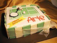 Graciella Cakes - Birthday - Baby Manye - Wedding Cupcake & Cake - Bandung Online CakeShop: Badminton cake
