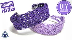 Macrame Bracelet Tutorial | NEW Macrame PATTERN by Macrame Magic Knots - YouTube