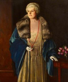 1920 Meredith Frampton - Lady Edith Bland-Sutton