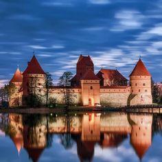 Trakai Island Castle  in Trakai Lithuania #TrakaiIslandCastle #TrakaiLithuania #Trakai #Lithuania #HeathrowGatwickCars.com   heathrowgatwickcars.com via Instagram http://ift.tt/2i2pAX8