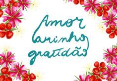 Amor | Carinho | Gratidão · Studio mariela · Posters · R$80,00