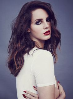 Lana Del Rey <3 love this makeup look