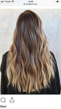 Are you searching for hair care tips? Hairstyle New. Brown Hair Balayage, Brown Blonde Hair, Hair Color Balayage, Brunette Hair, Hair Highlights, Ombre Hair, Blonde Balayage, Honey Balayage, Long Brunette