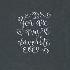Eres mi favorito