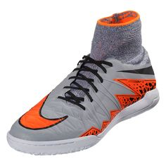 d7415911199c Buy Nike Hypervenom X IC Wolf Grey/Total Orange - SCCRX on SOCCER.COM · Youth  Soccer ShoesSoccer ...