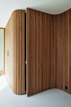 Interior Architecture Fesign Dream Homes – Wood Design – Haus Dekoration Renovation Design, Timber Battens, Timber Panelling, Wood Paneling, Bathroom Tile Designs, Bathroom Ideas, Bathroom Renovations, Basement Renovations, Front Door Design