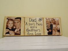 Going to try & make something like this for my dad! So cute.