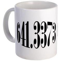 coffee- dewey decimal style--hahaha
