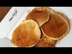 Basic pancake recipe from Laura Vitale!