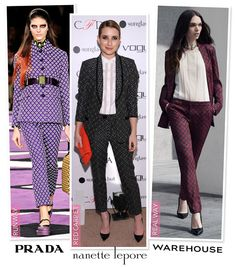 Runway to Red Carpet to Real Way - The Printed Suit