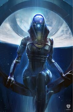 Artwork Tali - Mass Effect BioWare