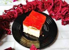 Ciasto z galaretką i delicjami Pancakes, Cheesecake, Breakfast, Desserts, Food, Cheesecake Cake, Breakfast Cafe, Tailgate Desserts, Deserts