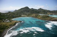 Petit Cul De Sac in St Barts. The beach Chris and Claire go snorkeling at during their honeymoon.